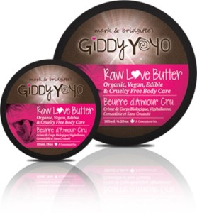 Giddy Yoyo Raw Love Butter