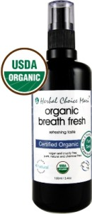 Organic Breath Freshener Spray