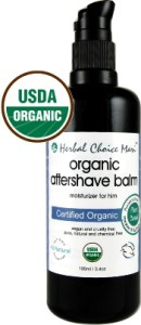 Organic After Shave Balm & Moisturizer for Men