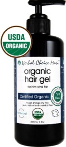 Organic Hair Gel by Herbal Choice Mari